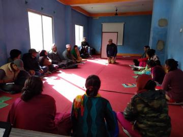 नागरिक समाज संस्थाका प्रतिनिधिको क्षमता विकास तालिम