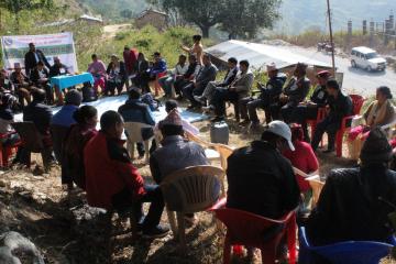 Community Techno-Hub opening at Sanfebagar Municipality-8 Bayalpata