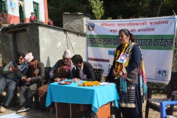Community Techno -Hub opening at Sanfebagar Municipality-8
